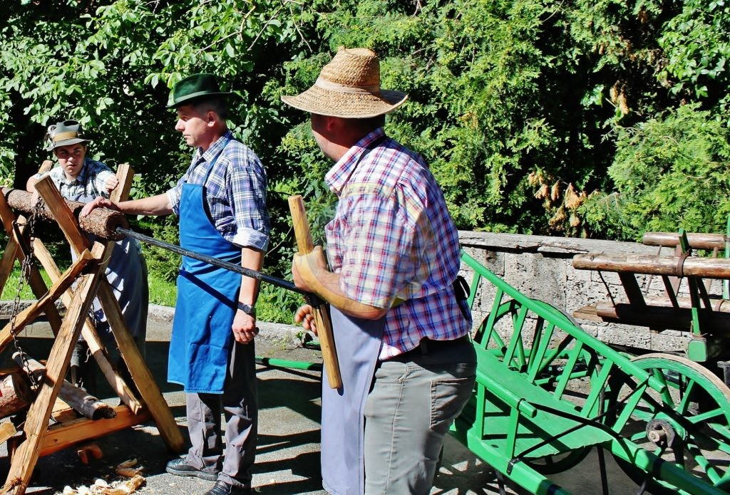 vrtanje lesenih cevi, 17. 6. 2016