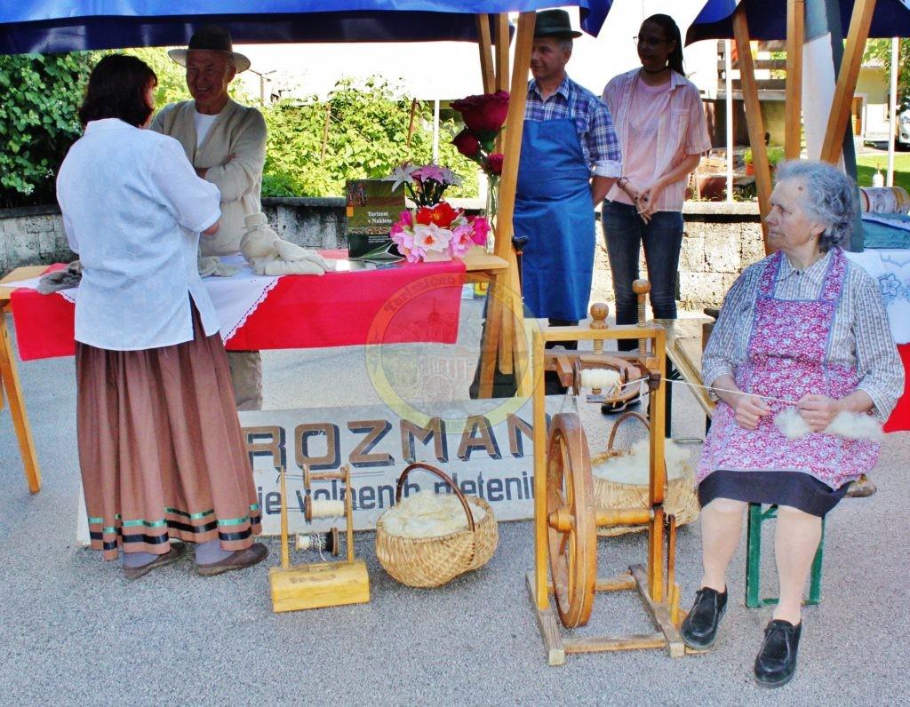 Volna v Naklem Nekoč, Mirko Poličar in Šmajdova mama z Okroglega, 17. 6. 2016