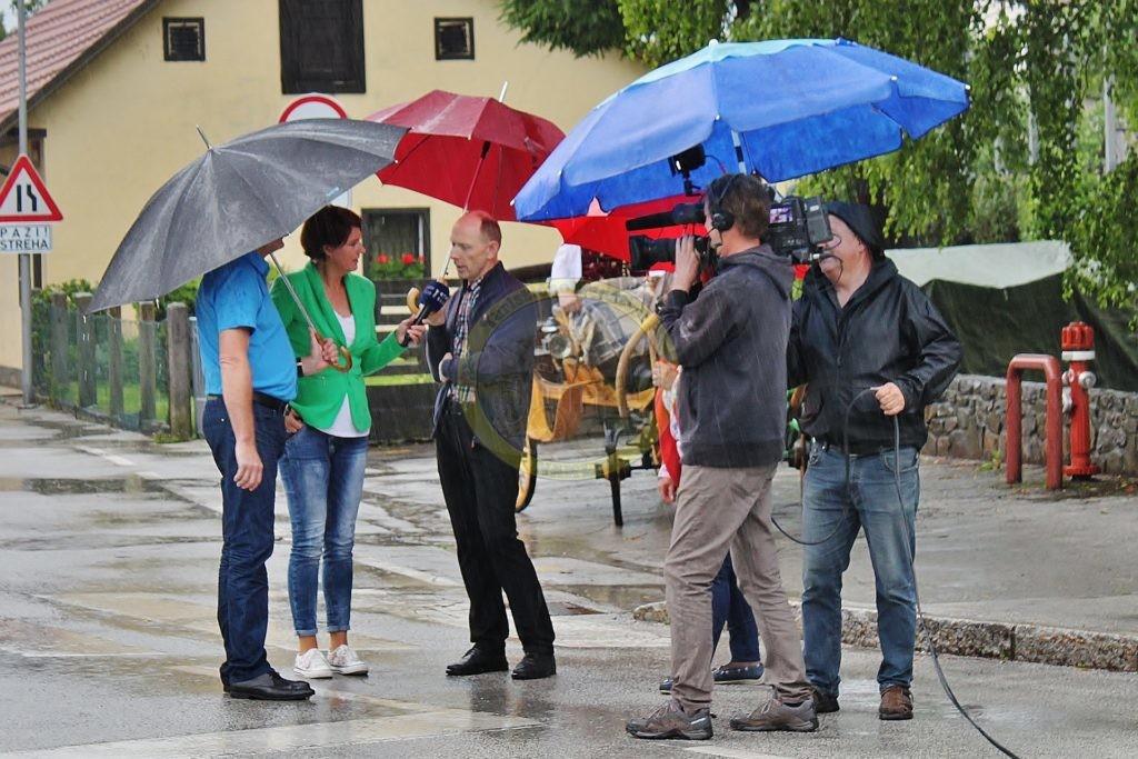 lokalni turistični vodnik Damijan Janežič, 17. 6. 2016, foto David Podobnik